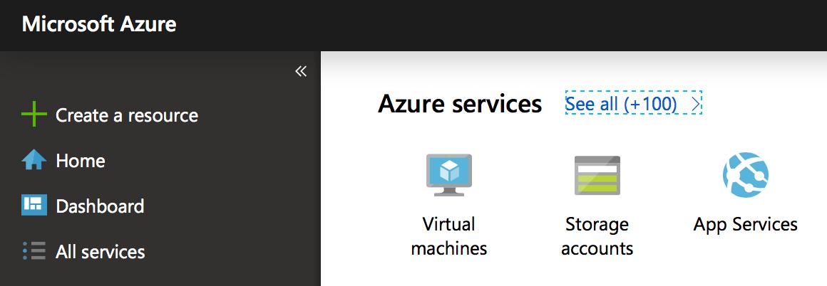 Choose your default view in Azure Portal