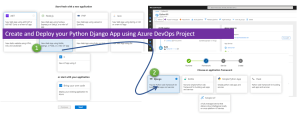 Create and Deploy your Python Django App using Azure DevOps Project