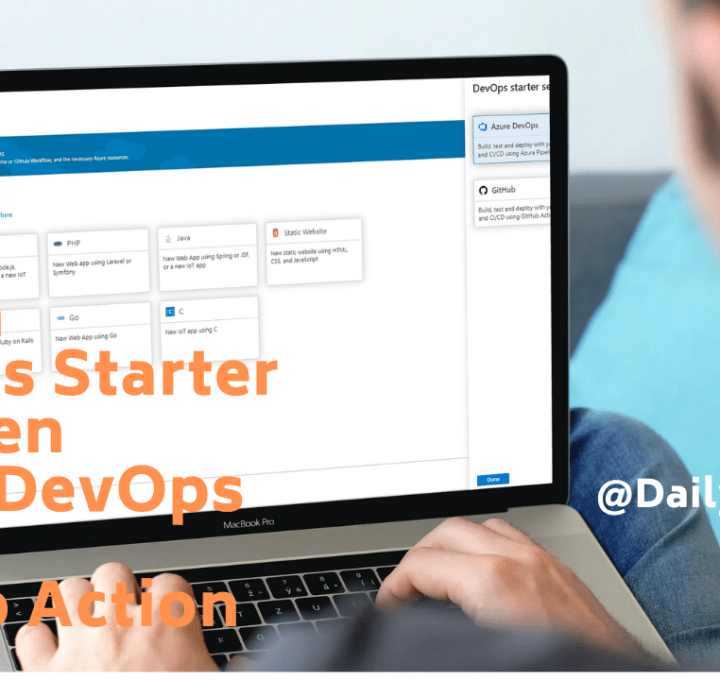 Switch DevOps Starter between Azure DevOps and GitHub Action