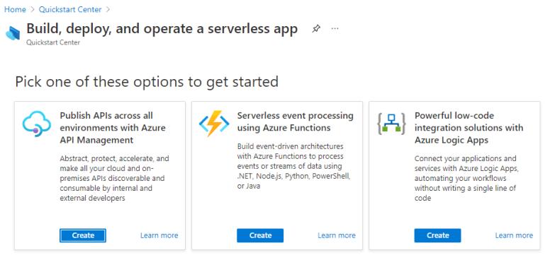 Get Started Azure Service