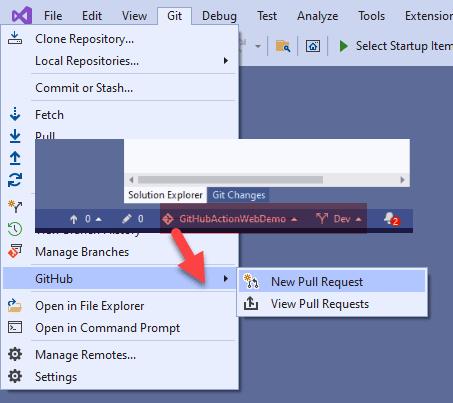 Git Pull Request Deep Links - Context Sensitive Navigation