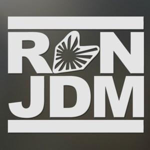 Run JDM Sticker