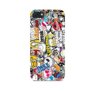 Stickerbomb Phone Case (Any Phone)