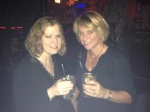 Amanda and Rhonda hit Club Neo the night before Durandemonium