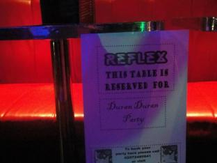Duran Duran party...Daily Duranie...it all goes together.
