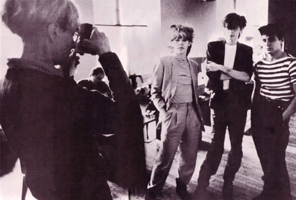 Andy Warhol and band