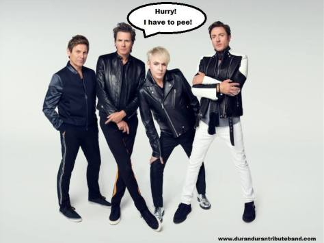 Created by Rio, the Duran Duran tribute band