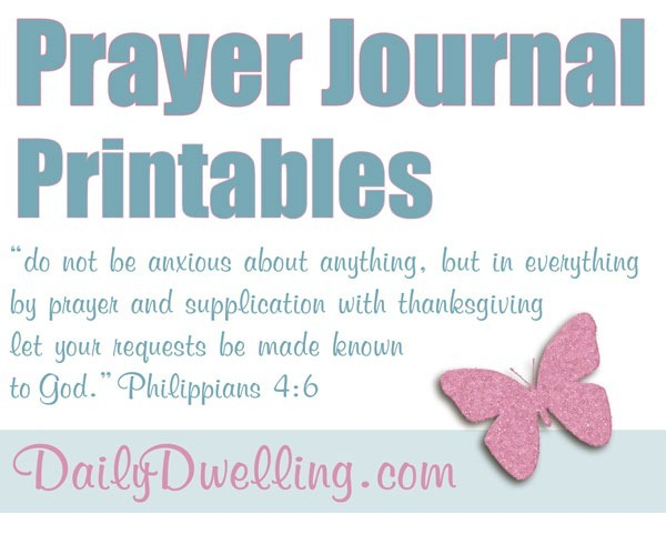 picture about Printable Prayer Journal known as Prayer Magazine Printables