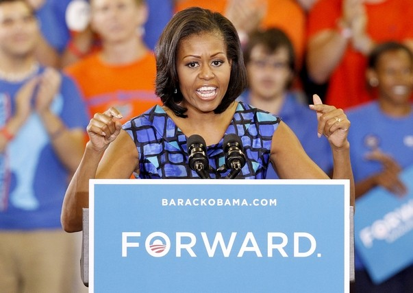 Michelle Obama, Michelle Obama!!! And About Those Voter ID Laws...