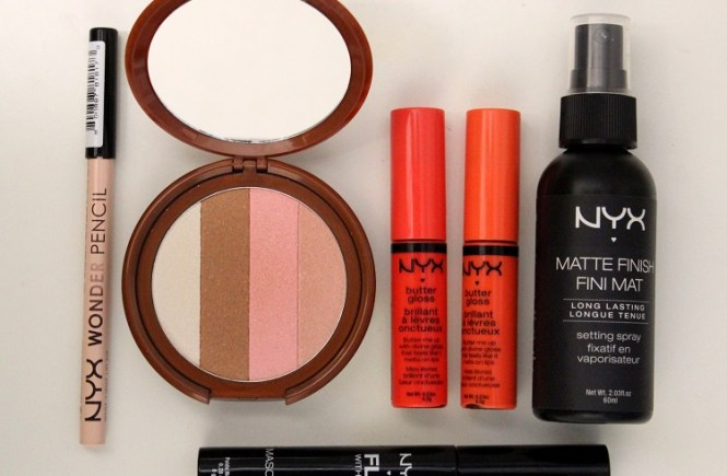 NYX Review, NYX bronzer, NYX lip gloss, NYX makeup, NYX cosmetics, NYX butter gloss, NYX Wonder Pencil, NYX mascara, NYX Fly With Me Mascara, NYX bronzer, NYX tango with bronzing powder, NYX cosmetics review, NYX makeup review, NYX beauty products review, NYX matte finish fini mat, NYX setting spray, NYX makeup reviews 2013
