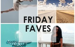 Friday Faves, miami bloggers, girl dancing, pirouette, road trip, royal baby, baby bling, pacifier, blinged out pacifier