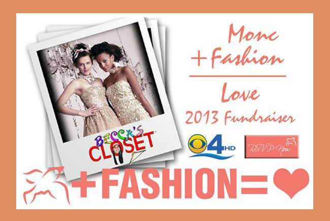 Monc + Fashion = Love Fundraiser, local Miami boutique, prom dress donations, homecoming dress donations, miami prom, miami homecoming, Becca's Closet, Monc Boutqiue
