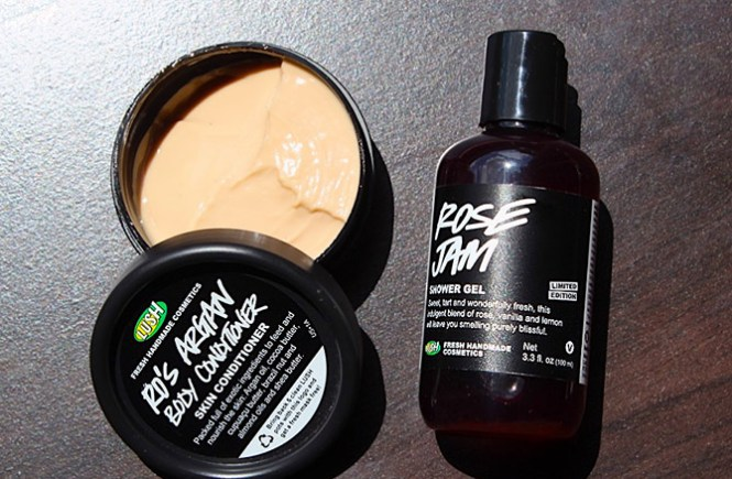 LUSH Fresh Handmade Cosmetics Review