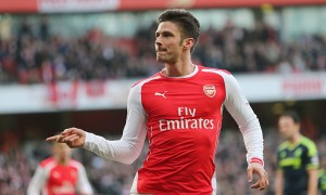 Olivia Giroud is one of The 10 Most Accurate Strikers in the Premier League