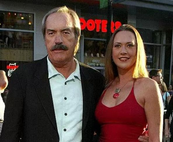 Image result for powers Boothe with his ex-wife cole