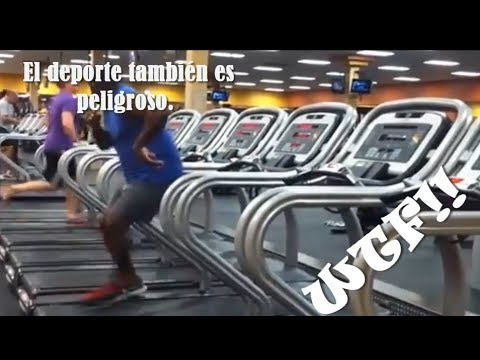 Best Compilation WTF! Fails Gym – Fitness – Octubre 2013