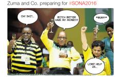 Zuma preparing for SONA 2016