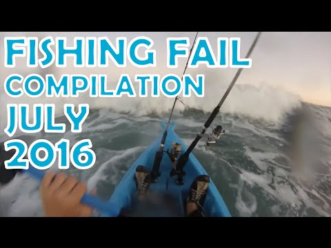 Fishing Fail Compilation July 2016
