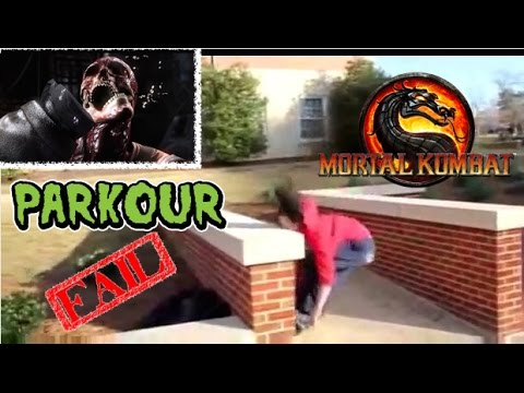 Mortal Kombat X: PARKOUR FAIL X-RAY FAIL COMPLILATION. VERY FUNNY. PART #2. HD