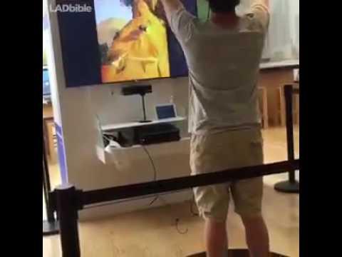 VR tree climbing fail