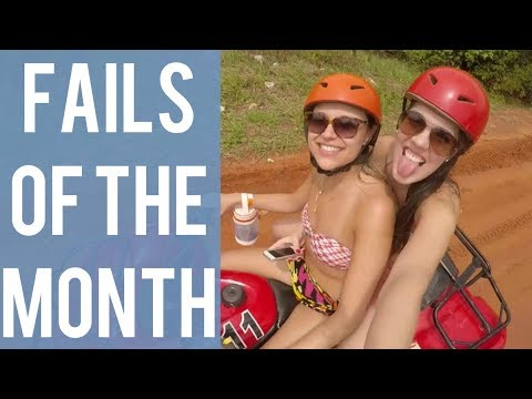 Girls Car Fail and other fails! Best fails of the month! August 2017!