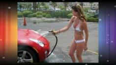Bikini Car Wash girl fail compilation