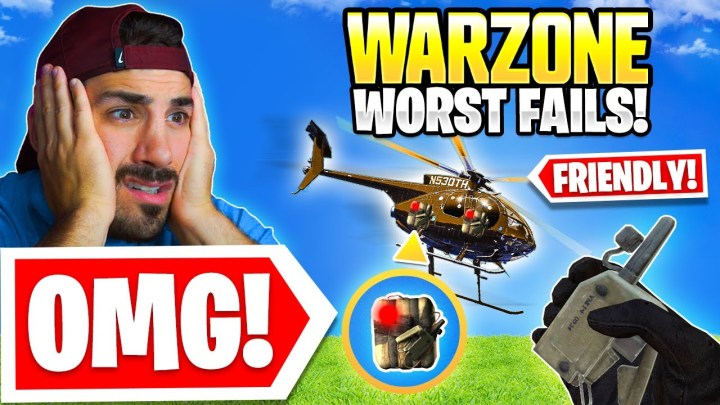 the FUNNIEST Warzone FAIL Compilation! 🤣 (Modern Warfare Warzone)