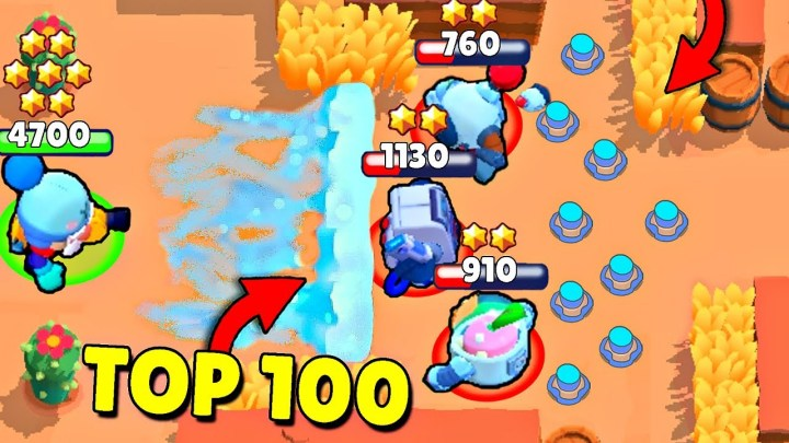 TOP 100 BRAWL STARS FUNNY FAILS COMPILATION