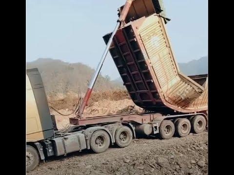 China truck fail compilation! 【E1】—Top crazy china overload trucks!
