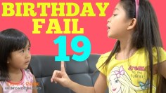 BIRTHDAY FAIL EP19  | Kaycee & Rachel Old Videos