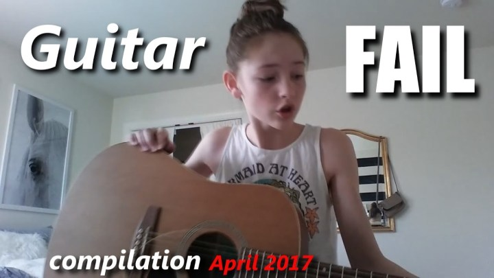 Guitar FAIL compilation April 2017 | RockStar FAIL
