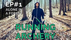 RUNNING ARCHERY is new extreme sport! (EP#1)