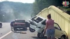 BEST FAIL CAR CRUSH VIDEO #4