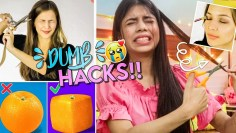 Testing Out Viral Hacks by 5 Minute Crafts!! *epic fail* Part 1