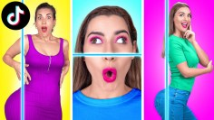 TESTING VIRAL TikTok CHALLENGES    Try Not To Fail Crazy Body Tricks By 123 GO Like!