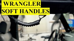 Review and Installation of  RedRock Extreme Sport Grab Handles for Jeep Wrangler YJ/TJ/JK & JL 87-20