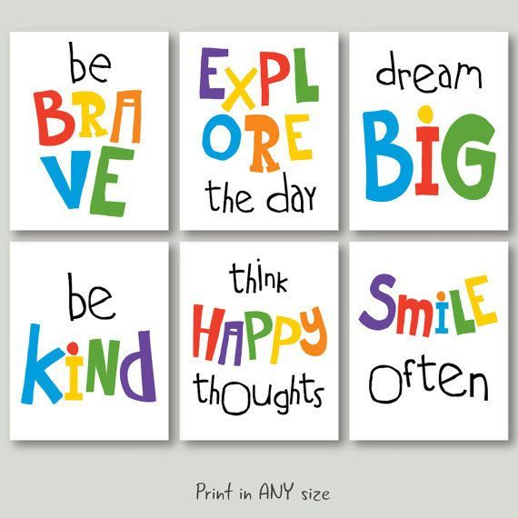 photo about Printable Inspirational Quotes Pdf named Motivational quotation playroom obtain child space inspirational