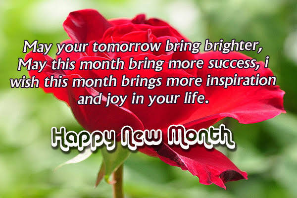 Happy New Month Messages, Wishes, SMS and Quotes, you can send to ...