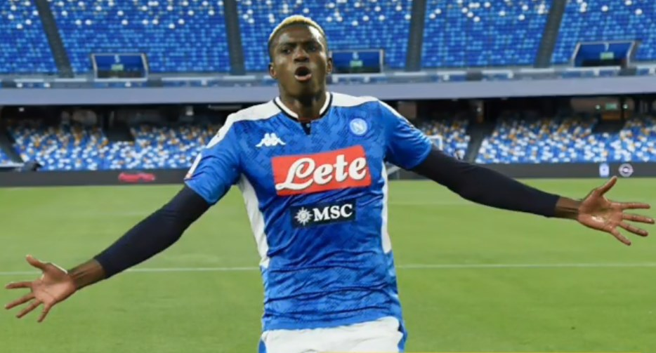 Buhari delighted with Osimhen's imminent Napoli move, says ambassador