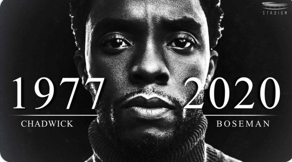 Rest In Peace Black Panther Star Chadwick Boseman Dies At 43 Rip Legend Daily Focus Nigeria