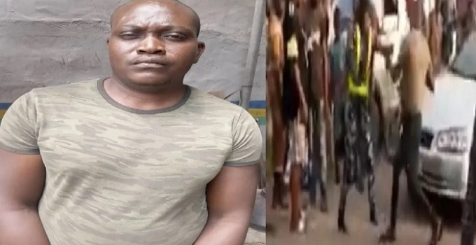 A Dismissed Soldier Beats Policewoman Black And Blue on Traffic Duty in Lagos (VIDEO)