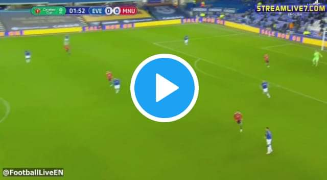 Watch Everton vs Manchester United Live Streaming Match Free TV Channel #EVEMUN