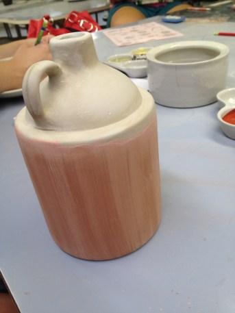 my little brown jug, before firing