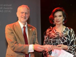 Corbyn Hires Bianca Jagger as Social Media Director Daily Freier