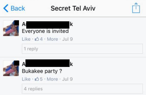 Party Daily Freier FOREX Secret Tel Aviv Roommate
