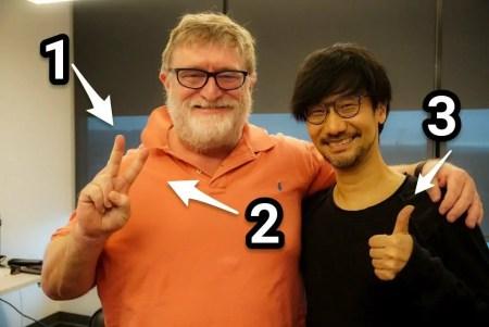 3 Finger = Klarer Hinweis auf Half-Life 3