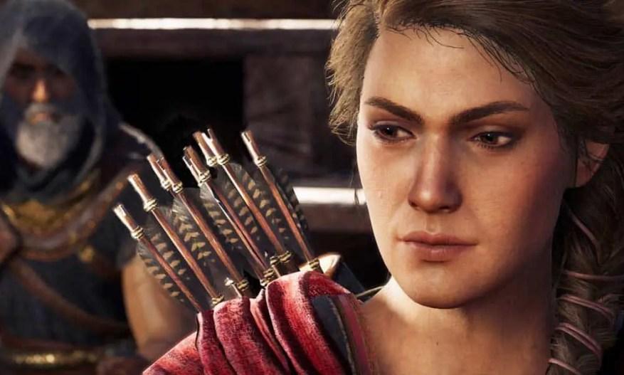 Kassandra fue planeada como el personaje principal de Assassin's Creed Odyssey.  ¡Alexios no estaba planeado!