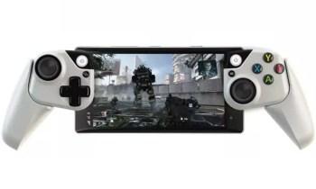 Der Prototyp eines Xbox-Controllers fürs Smartphone