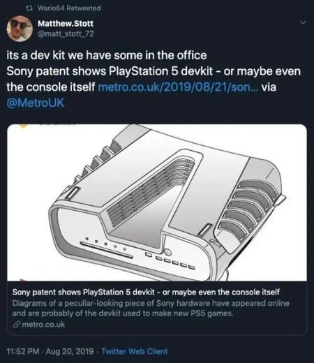 PS5-Design von Codemasters-Entwickler bestätigt