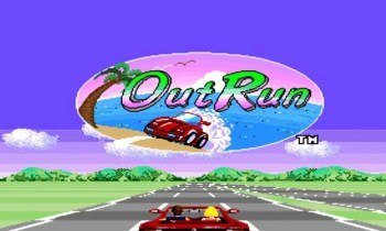 Out Run - (C) Sega